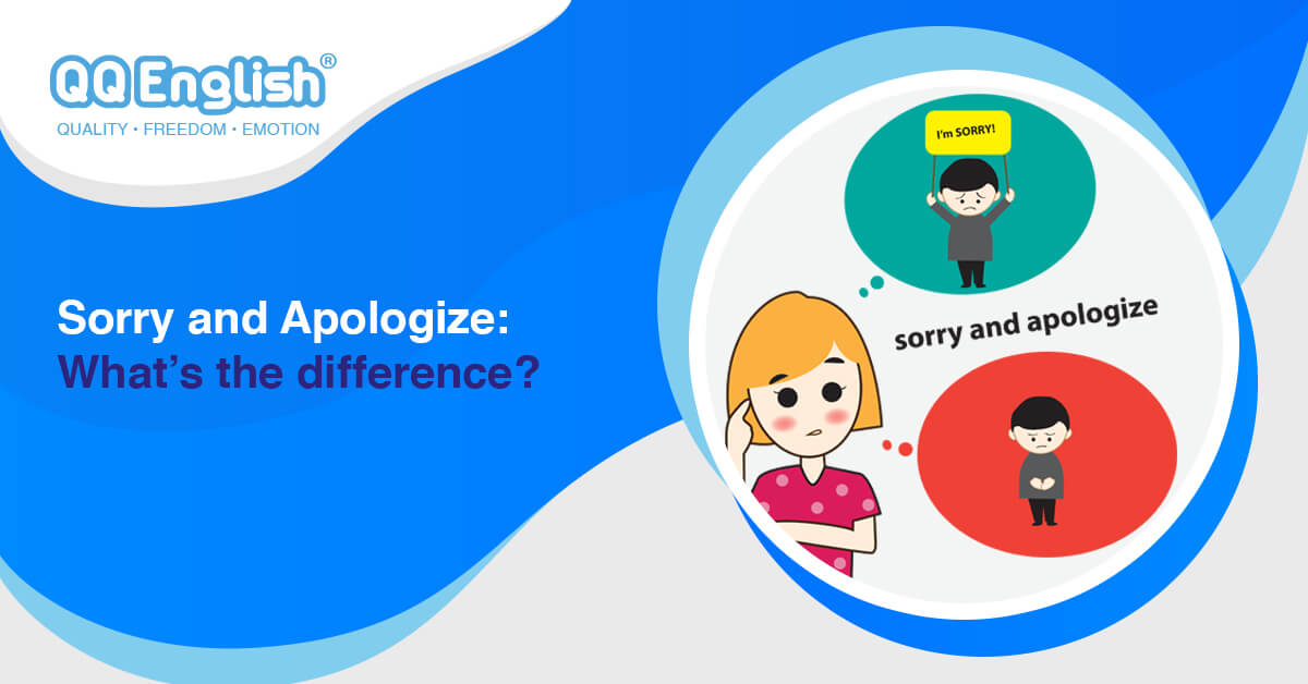 sorry and apologize