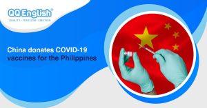 China donates COVID-19 vaccines