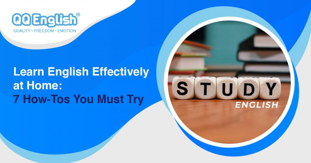learn English effectively at home